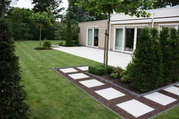 Moderne tuin bungalow